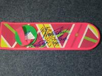 Michael J Fox Signed Christopher Lloyd Back to the Future Hoverboard Beckett COA
