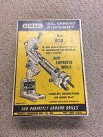 Vintage General Hardware No. 825 Drill Grinding Attachment w/ Original Box- 203