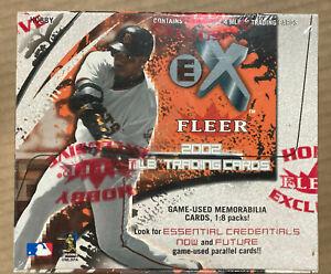 2002 Fleer Skybox EX Baseball Hobby Box Factory Sealed 24 Pack