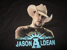 "2013 JASON ALDEAN ""Night Train"" Concert Tour (XL) T-Shirt w/ Guest JAKE OWEN"