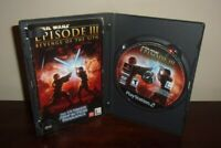 Star Wars Episode III 3 Revenge of the Sith (PlayStation 2) PS2 Game Complete