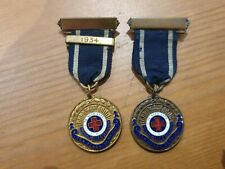 More details for 2 girls life brigade ten years service medals