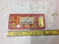 10-Piece Sandvik TNMG 433-61 22 04 12-61 415 Triangle Carbide Insert. NEW IN BOX