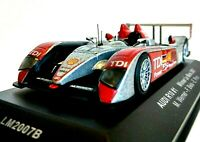 IXO Audi R10 TDI LM2007B #1 Le Mans Winner Race Finished Conditions 1/43 Rare