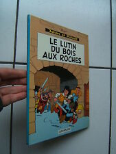 PEYO / JOHAN ET PIRLOUIT / LE LUTIN DU BOIS AU ROCHES / 1967