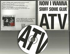 ATV ALTERNATIVE TV Television Now I wanna  w/ 2 UNRELEASED TRX CD Single RAMONES