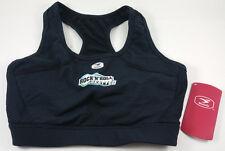 Sugoi Fizz Rock N Roll Seattle Marathon Sports Bra Black Women's Size Large Nwt