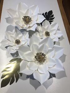 Set De flores de papel Medianas