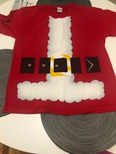 Christmas Santa Claus Men's large T-shirt. Used, but In Good Condition.