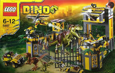 LEGO 5887 Dino Defense HQ  UNOPENED NEW AND VERY HARD TO FIND