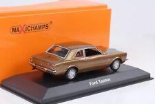 1970 Ford Taunus braun metallic 1:43 Maxichamps / Minichamps