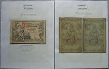 S2096) Privatpost Berlin Packetfahrt New Year Anniversary 8 Documents 1887 -