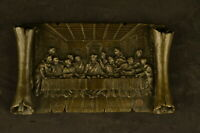 The Last Supper  Hot Cast Religious Genuine Bronze Sculpture Figurine Figure Art