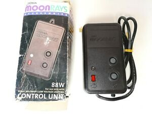 NOMA Moonrays Low Voltage Lightining Control Unit 88W 11 Settings On and Off