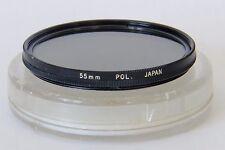 Genuine OLYMPUS 55mm Pol. Polarising Filter & Case