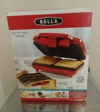 Bella Electric Pastry & Sandwich Tart Maker Red New In Box