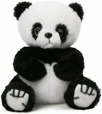 """New listing 8"""" Plush Panda Toy Soft Cuddly Baby w/Recycled Stuffing Floppy Body for Hugging"""