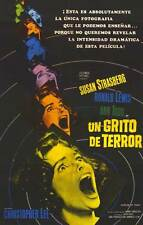 SCREAM OF FEAR Movie POSTER 11x17 Spanish Susan Strasberg Ronald Lewis Ann Todd