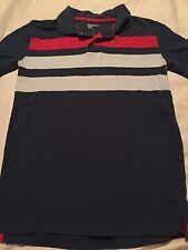 Gap Kids Boys Short Sleeve Polo Shirt Size Large 10 Blue Red White