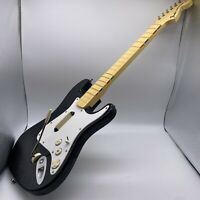 Harmonix Fender Stratocaster Wireless Rock Band Wii Guitar NO DONGLE For Parts