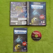 GameCube-Disney Pixar les monstres AG (complet avec neuf dans sa boîte Et Guide)