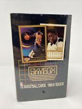 1990-91 SkyBox Basketball Series 1 Factory Sealed Box NBA Michael Jordan Wax