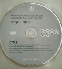 Mercedes Navigation Audio 50 APS 2010 - DVD1 Skandinavien PL GB - NTG 2.5 türkis