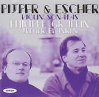 GRAFFIN & BLANKEN Pijper & Escher Violin Sonatas (2011) 7-track CD album NEW