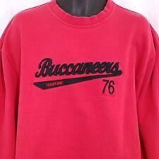 Tampa Bay Buccaneers Mens Sweatshirt Reebok Gridiron Classic Retro Size Large