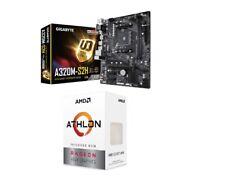 Bundle Mainboard Motherboard AM4 GIGABYTE A320M-S2H CPU AMD Athlon 3000G 3,5GHz