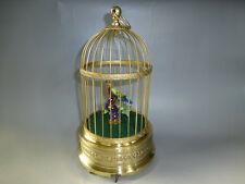 Antique German Karl Griesbaum Singing Bird Cage Rare One Of A Kind Singing Tone