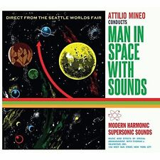 Attilio Mineo - Man In Space With Sounds [New CD] Digipack Packaging