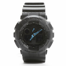 Casio G-Shock GA100C-8A LED Matte Black/Grey & Blue Digital Watch