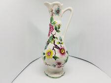 Old Foley James Kent Bud Vase Jug 'Chinese Rose' decorated with Birds & Blossom