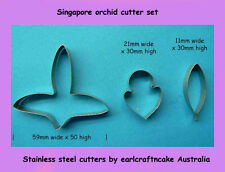 Large Singapore orchid cutters -  Cake Decorating Sugar Flower Gum Paste Tools