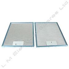 2 X Metal Horno Cocina Campana Extractor filtros de ventilación para Neff 300 X 250 Mm