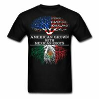 American Grown With Mexican Roots Men's T-Shirt