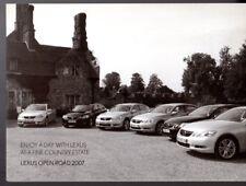 Lexus Open Road Test Drive Event Invitation 2007 UK Market Mailer Brochure