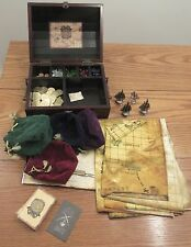 Old Century Dread Pirate Signature Edition board game wood chest metal pieces
