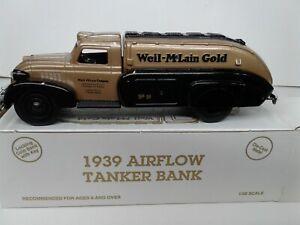 NEW 1939 Airflow Tanker Truck WEIL McLAIN CONTRACTOR SERIES NO.6 ERTL Dodge Bank
