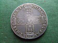 Guglielmo III. 1700, Argento Corona. scarse condizione di bello