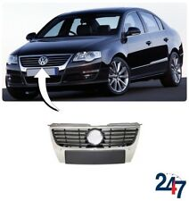NEW VOLSWAGEN PASSAT B6 2006-2009 HIGHLINE FRONT UPPER CHROME GRILL WITH PDC
