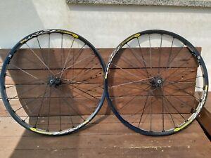 """Mavic crosstrail 26"""" UST Tubeless wheelset, crossmax sl slr sx st era"""