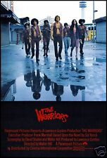 The Warriors FRIDGE MAGNET 6x8 Magnetic Movie Poster Canvas Print