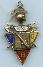 Genuine Old Knights of Pythias Secret Society Gold Charm