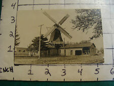 Vintage  POSTCARD: MILL WITH WINDMILL, not sure what town