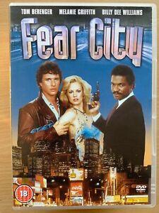 Fear City DVD 1984 Abel Ferrara Violent Cult Erotic Crime Thriller Movie Classic