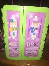 POLLY POCKET Rolling Green Storage Closet/Case with Drawers
