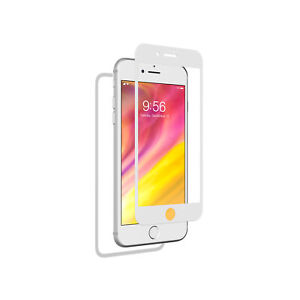 ZAGG InvisibleShield Glass Plus Luxe 360 Screen Protector iPhone 8, White Silver