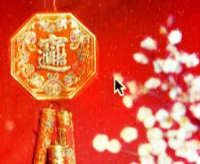 76 cm XL rouge chinoise DECO artificielle des pétards Mariage Fête Anniversaire japonais